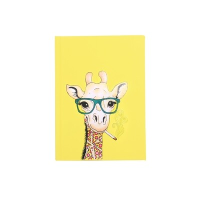Giraffe Print Diary