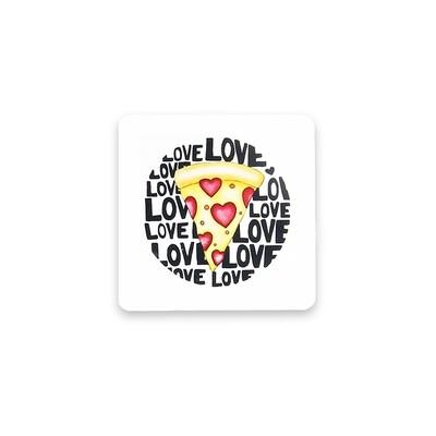 Pizza Coasters-Set of 4