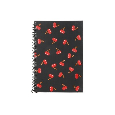 Cherry Print Diary