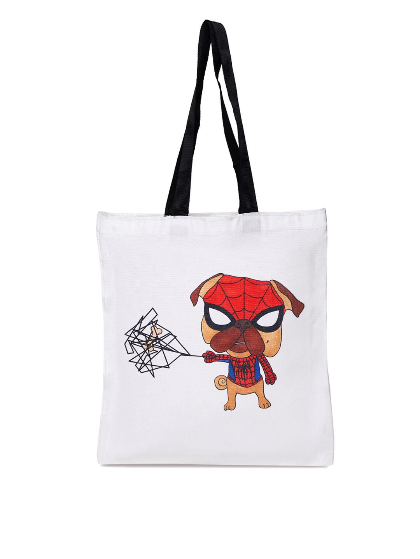 Spider Pug Jhola Bag