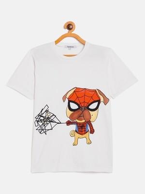 Unisex Spider Pug T-Shirt