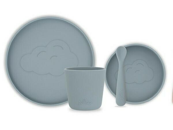 Dinerset Siliconen Storm Grey