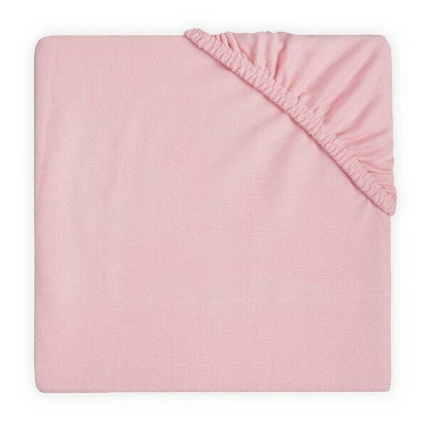 Hoeslaken jersey 60x120cm Blush pink