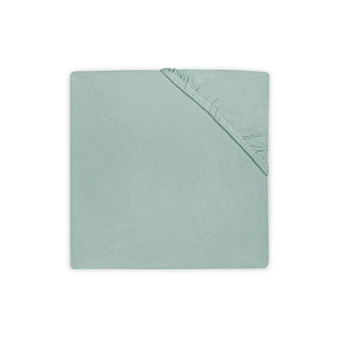 Hoeslaken Katoen 70x140cm Soft Green