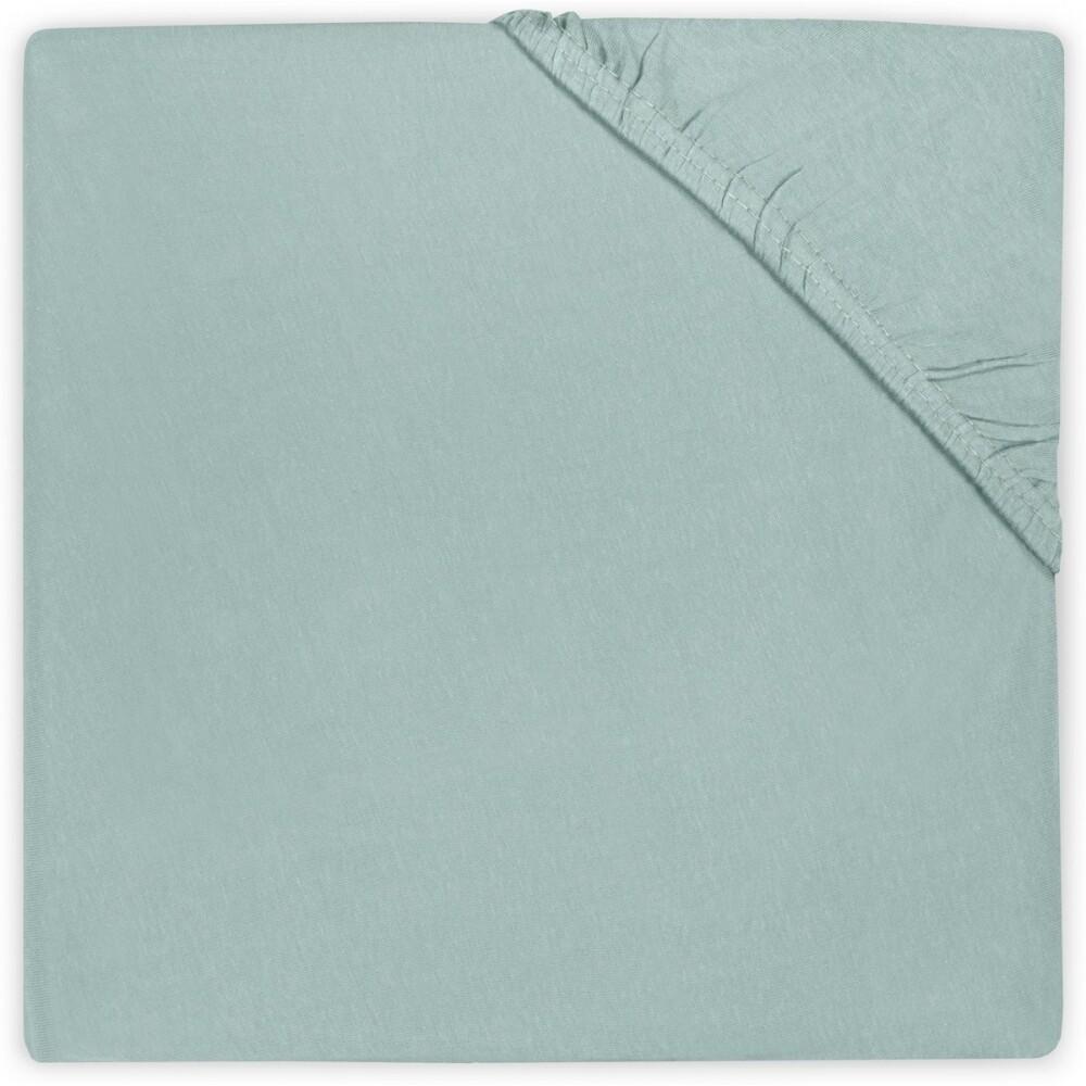 Hoeslaken katoen 60x120 Soft green