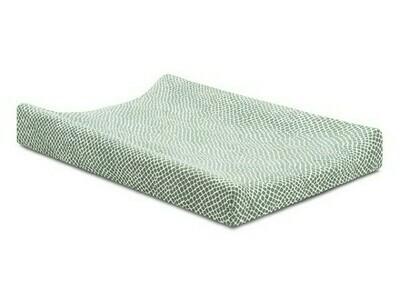 Waskussenhoes 50x70cm Snake soft green