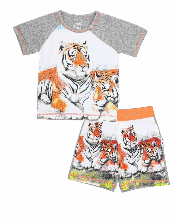 Baby Boys Pyjama Set Tiger