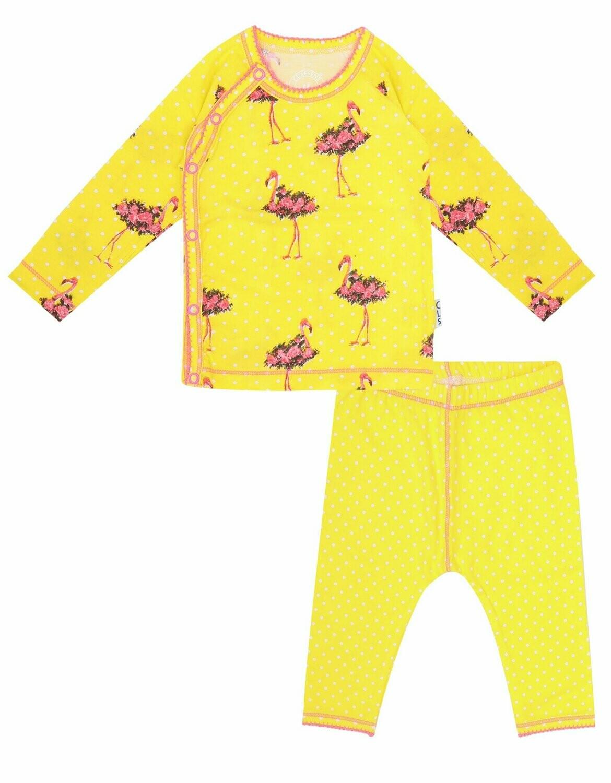 Baby Girls Pyjama Flamingo