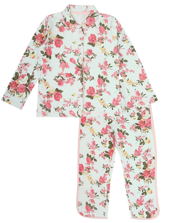 Girls Pyjama Romantic Flower
