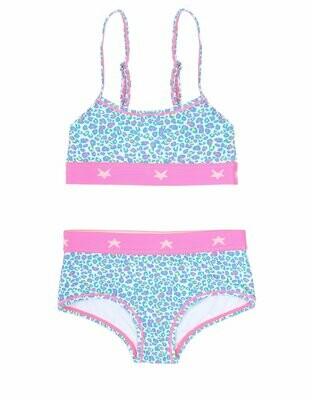 Girls Triangle Bikini - Panther