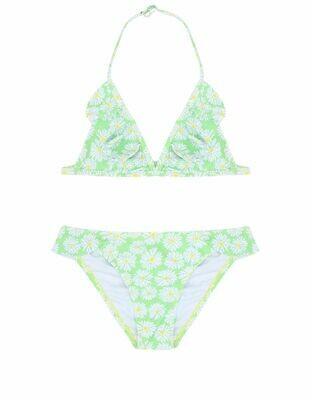 Girls Bikini Triangle Daisy