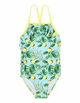 Girls Swimsuit - lemon