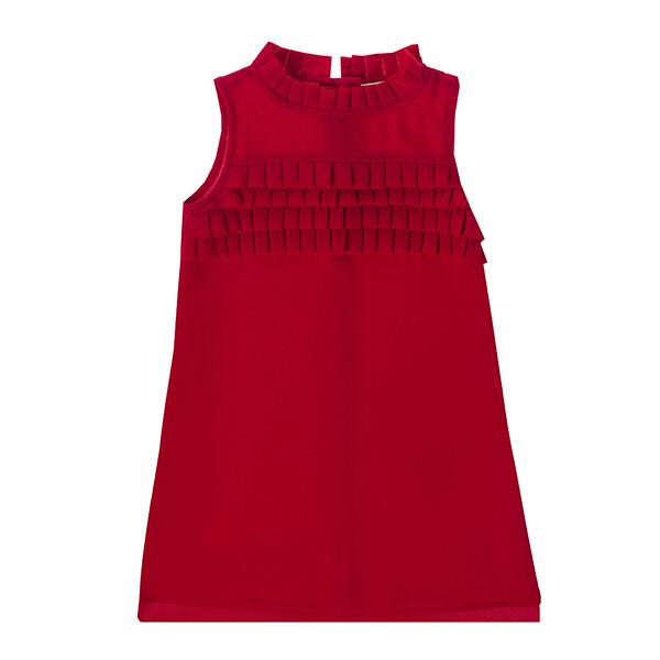 UBS2 Rood kleedje Ruffles