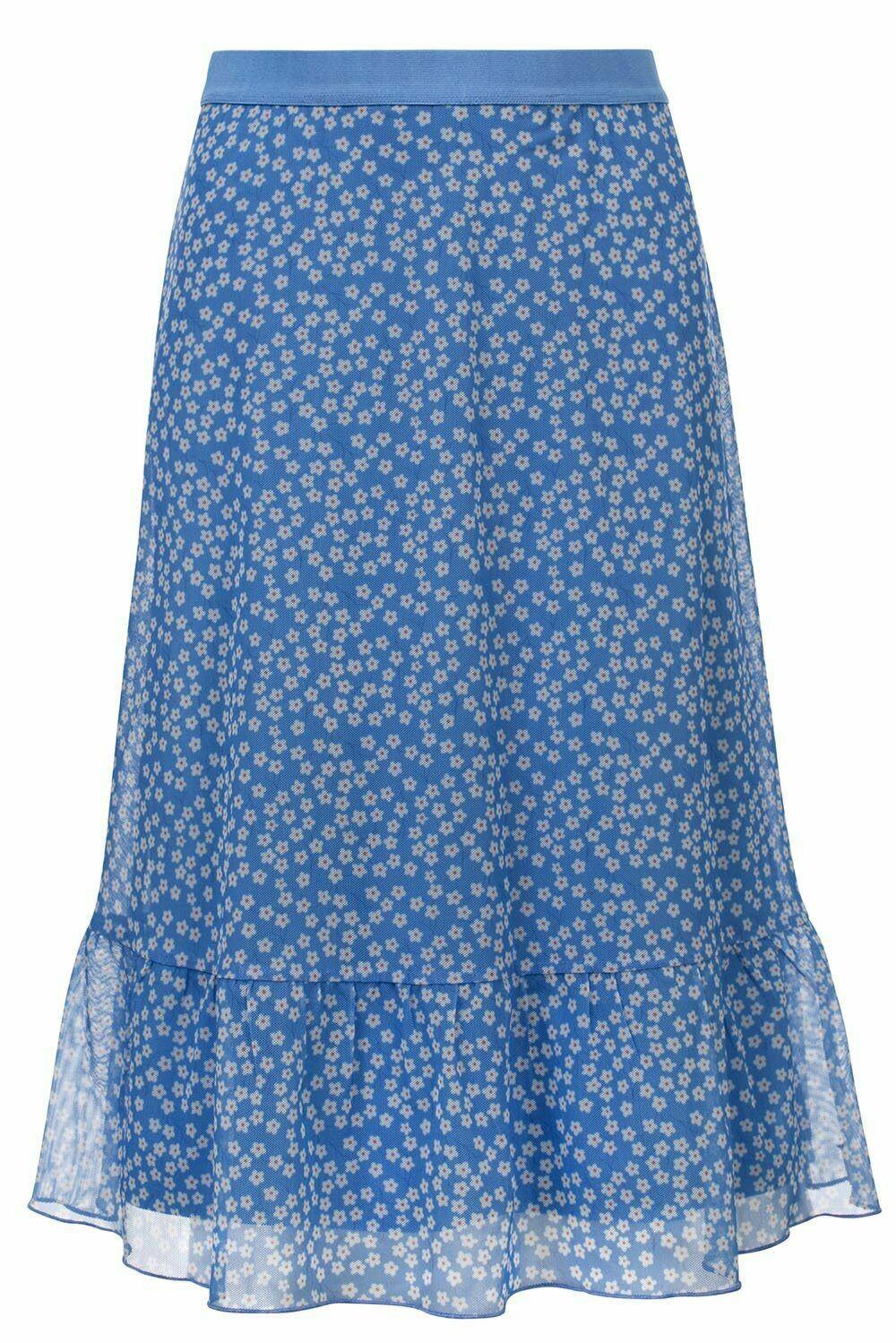 Looxs Skirt Flower Blue & White