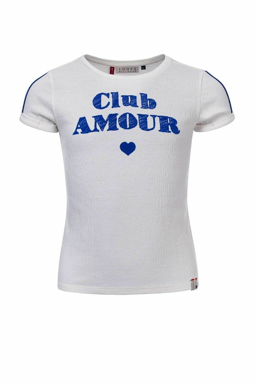 T-shirt White Club Amour