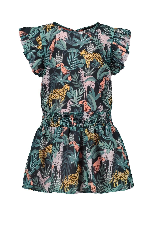 Flo jurk safari