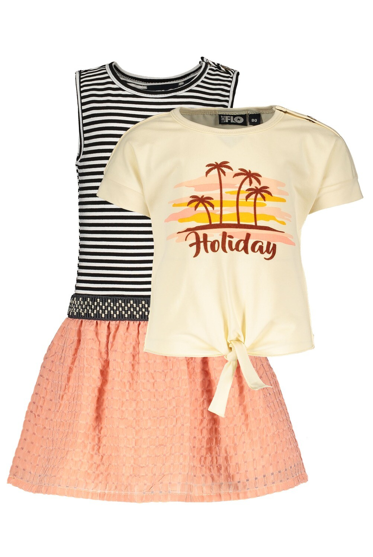 Flo Setje kleedje met T-shirt