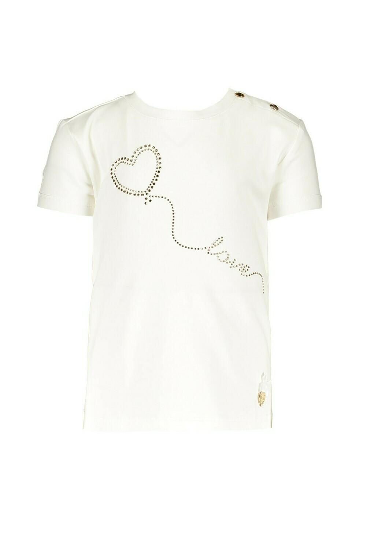Le Chic T-Shirt Wit/goud