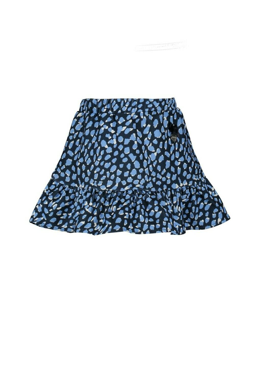 Le Chic Rokje Blauwe Panter print