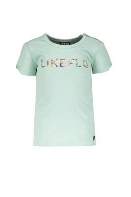 Flo T-shirt Turquoise
