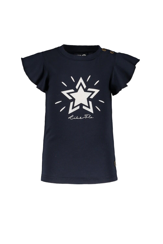 Flo T-shirt Dark Blue