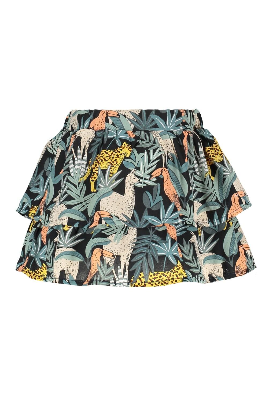 Flo skirt Safari Print