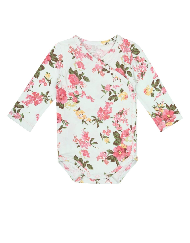 Baby Girls Romper Romantic Flower