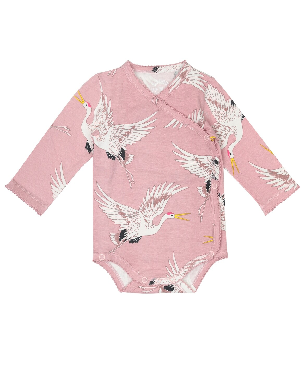 Baby Girls Romper Crane