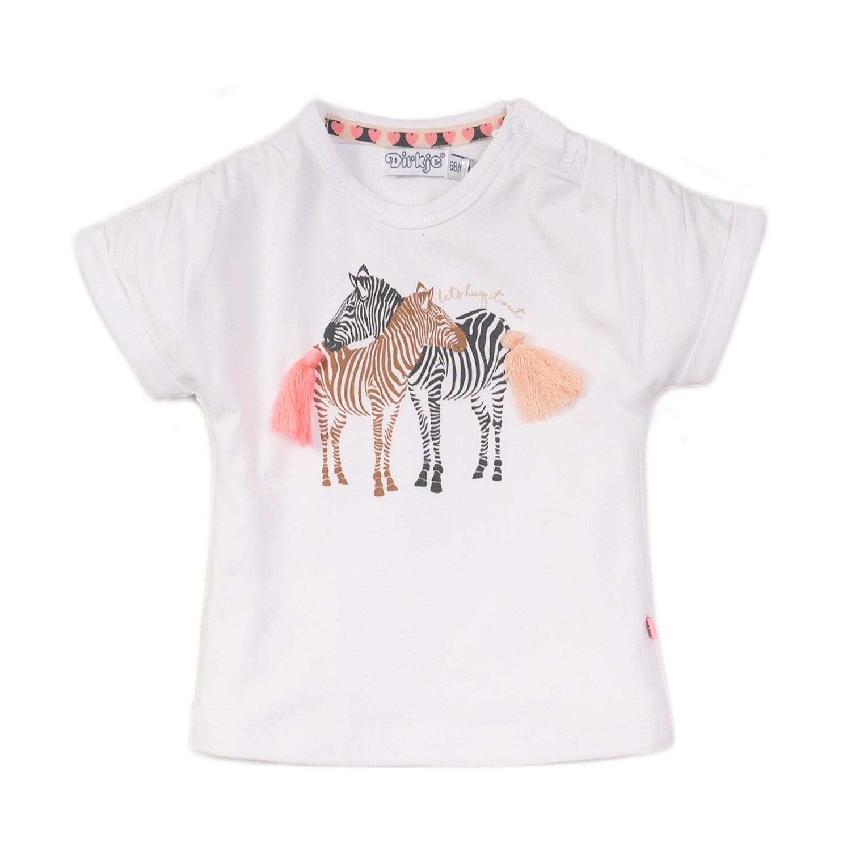 Dirkje T-shirt Zebra's
