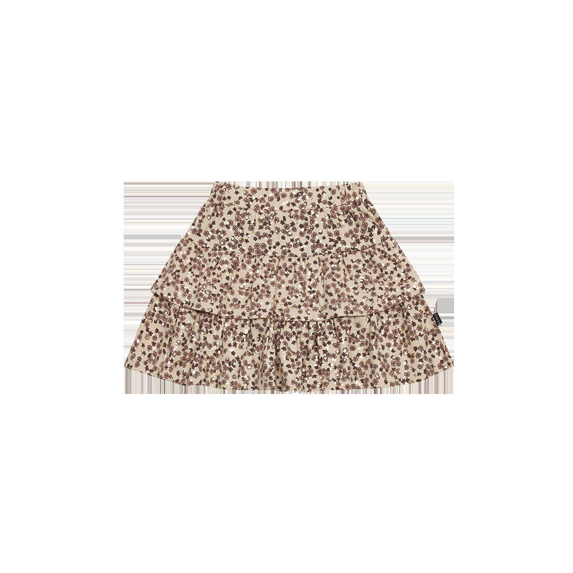Ruffled Skirt Golden rose Dawn Blossom