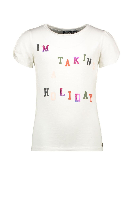Like Flo  t-shirt white holiday