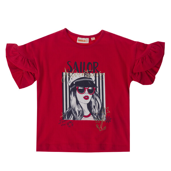 UBS2 T-shirt red sailor