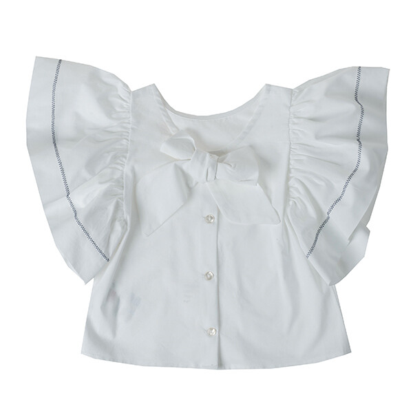 UBS2 T-SHIRT WHITE BOW