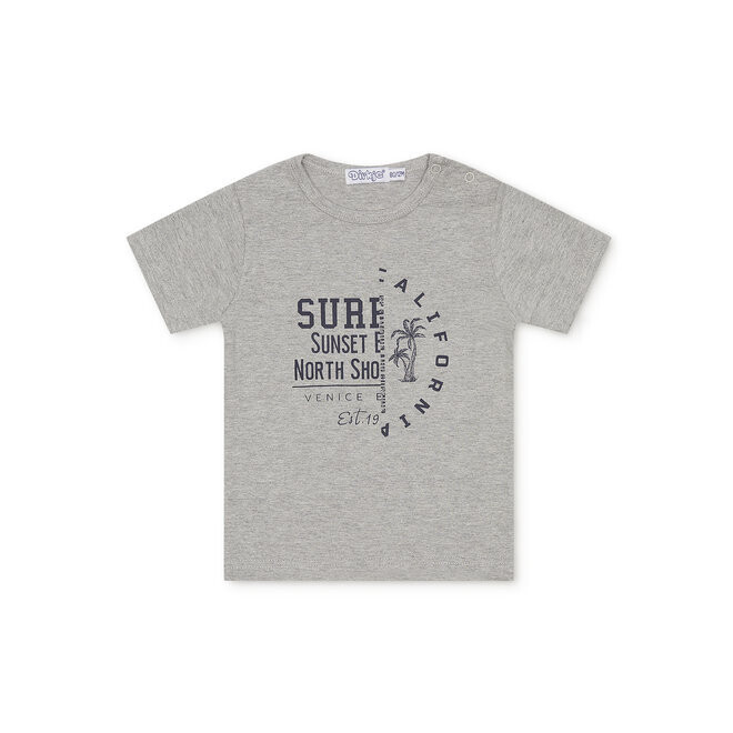 Dirkje T-shirt Grey Surf