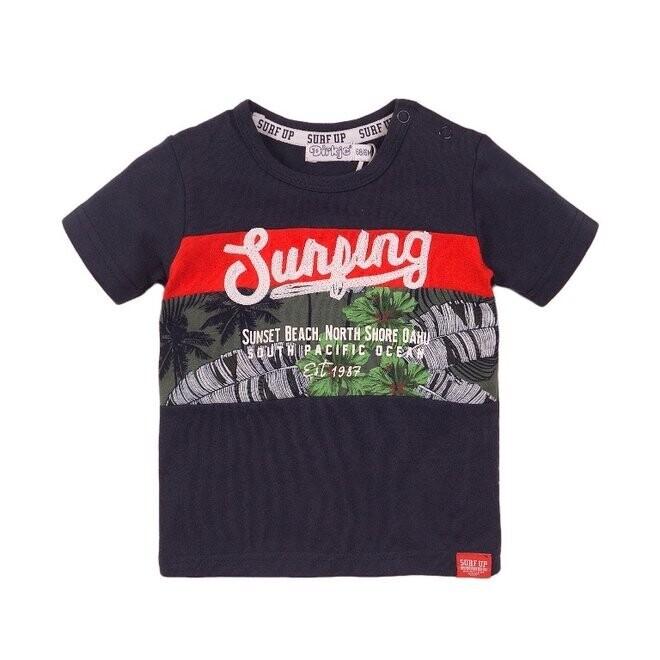 Dirkje T-shirt Navy Surping