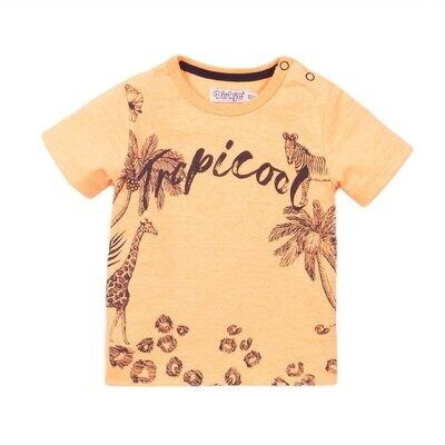 Dirkje T-shirt fluo orange Picool