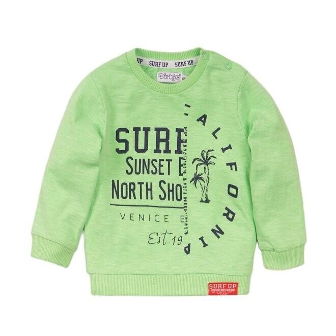 Dirkje Trui groen Surf