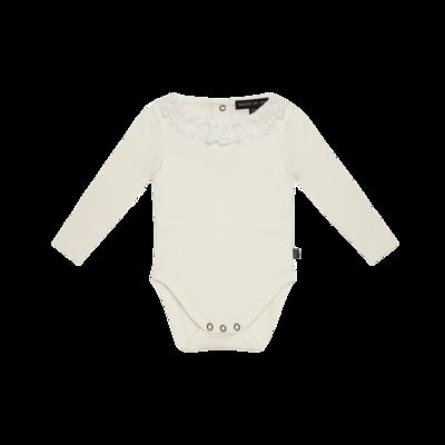 Lace Collar Bodysuit (ls)