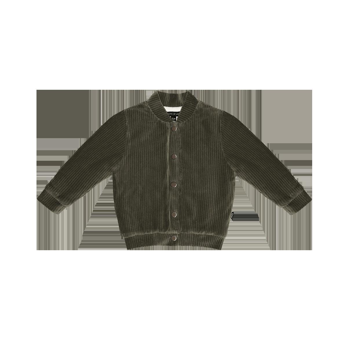 Bomber jacket Moss Rib Velvet