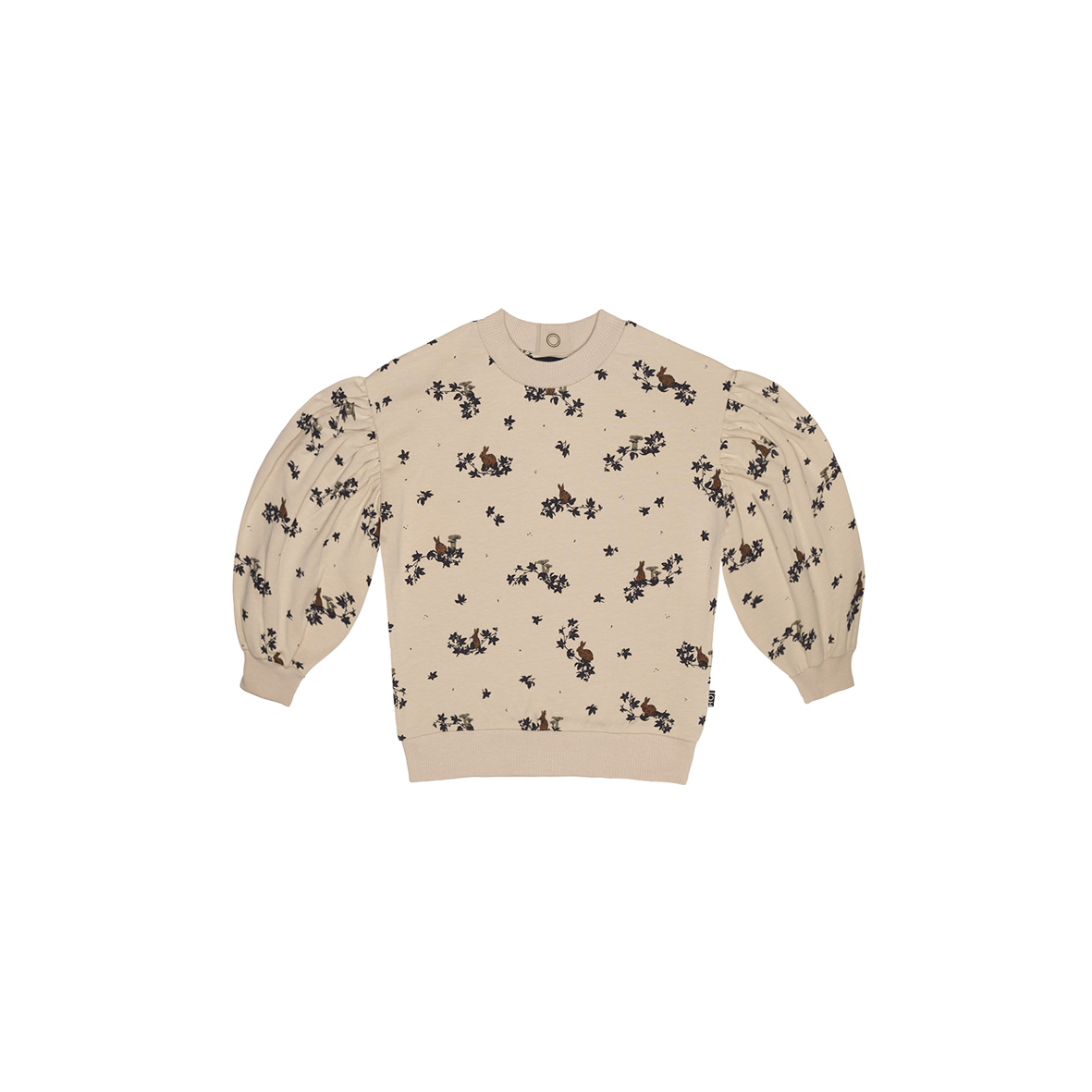 Balloon Sweater Oatmeal Forest