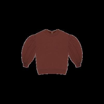 Balloon Sweater Burgundy