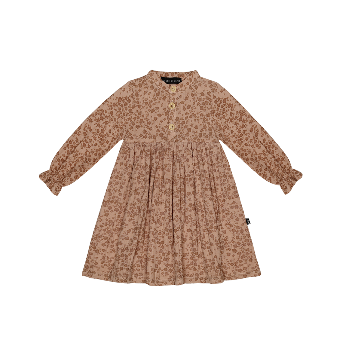 High Waist Dress Terra Blush Blossom