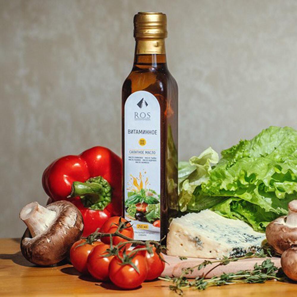 Масло салатное «Витаминное III»