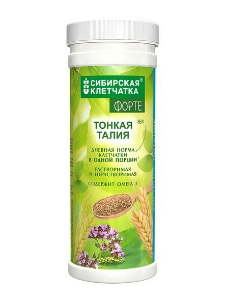 Питьевой коктейль с клетчаткой «Тонкая Талия»