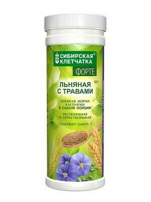 Питьевой коктейль с клетчаткой «Льняная с травами»