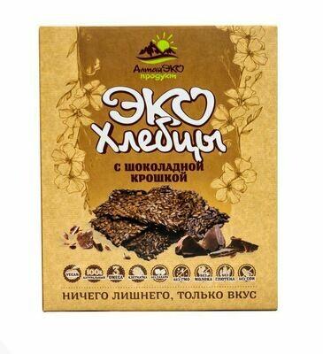 """Эко хлебцы Алтая """"с Шоколадной крошкой"""" 90гр"""