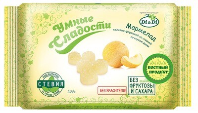 Мармелад «Умные сладости» желейно-формовой «Дыня» 200г
