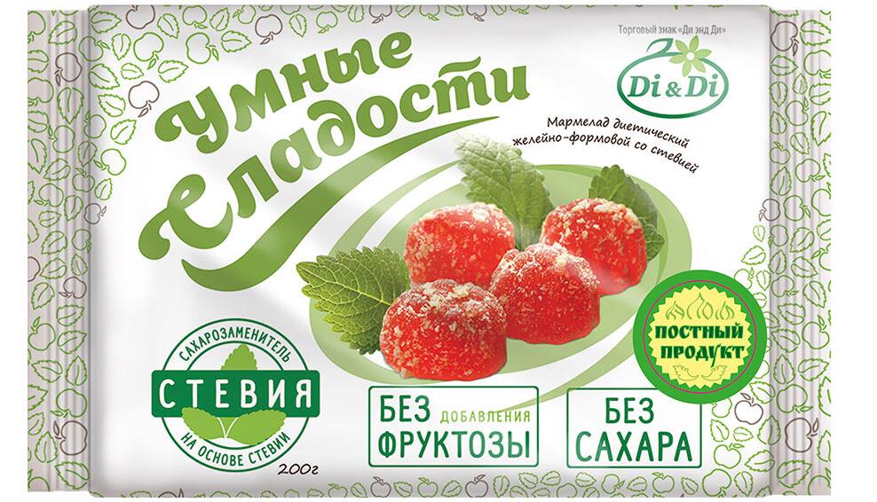 Мармелад «Умные сладости» желейный 200г