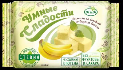 Пастила «Умные сладости» со стевией «Банан»