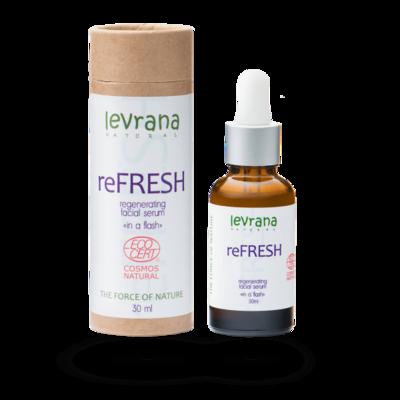 Сыворотка для лица reFRESH, регенерирующая, Levrana